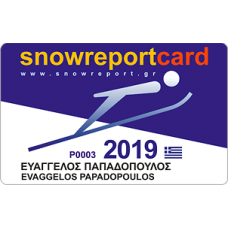 SNOW REPORT CARD 2019